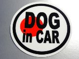 DOG IN CAR�X�e�b�J�[